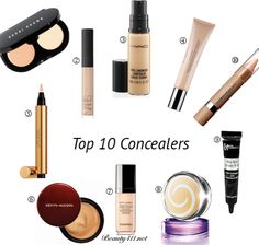 Shopping for a new concealer? Ck this list Top 10 Concealers first! #makeup