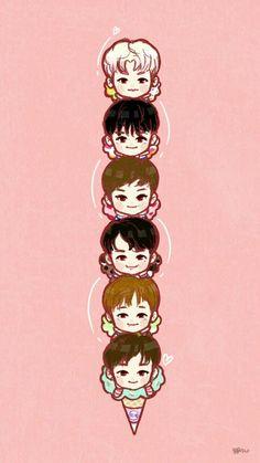 Astro Wallpaper, Computer Wallpaper, Iphone Wallpaper, Jinjin Astro, Astro Fandom Name, Lee Dong Min, Kpop Drawings, Astro Boy, Lost Boys