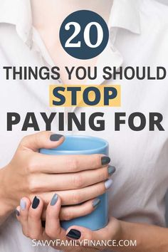 Save yourself time, money, and space. How many things do you still pay for that are a waste of money? Financial Peace, Financial Tips, Money Tips, Money Saving Tips, Saving Ideas, Frugal Living Tips, Frugal Tips, Make Money Online, How To Make Money