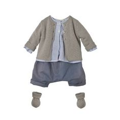 Look n° 16 bon point Toddler Boy Fashion, Little Boy Fashion, Kids Fashion, Little Boy Outfits, Baby Boy Outfits, Kids Outfits, Baby Outfits Newborn, Kind Mode, Baby Wearing