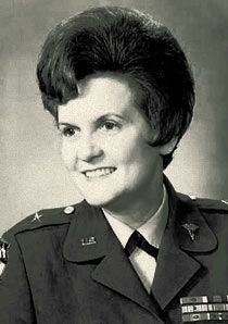 On July 11, 1970, Brigadier General Anna Mae Hays became the first woman in the U.S. military to be given a general officer rank.