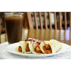 #PlatillodelDía - Tacos de Cochinita Pibil. Costo: 80...