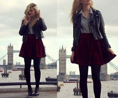 One of the cutest outfits I've seen on Lookbook.