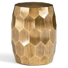 glass drum accent table - Google Search