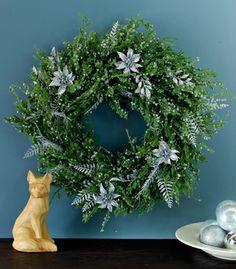 DIY Winter Grays Wreath - Confetti Pop