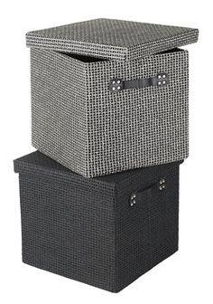 Box GODTFRED B32xL32xH30cm osort.   JYSK