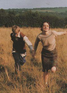 """Iris Palmer """"Land Girl"""" by Tim Walker for Vogue UK 1996 brbrbrbrb"""