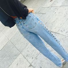 #NastyGalsDoItBetter in After Party high-waisted relaxed denim: http://www.nastygal.com/clothes/after-party-vintage-rebel-rebel-jeans || DesUntld > https://instagram.com/p/1yMpuzvq2F/