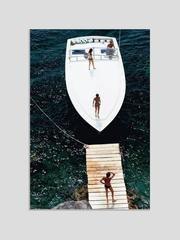 'Speedboat Landing' (Chromaluxe Aluminium Print)