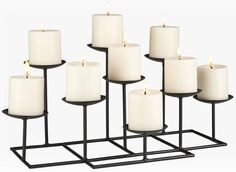Candelabra for non-working fireplace