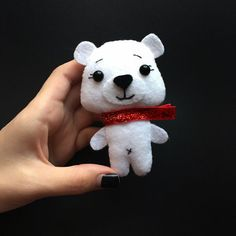 I Created A Cute Felted Bear That You Can Do Yourself