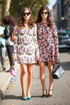 FLOWER POWER // floral print dresses