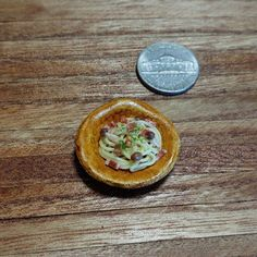 #パスタ #和風パスタ #しめじ #ベーコン #pasta #mushroom #shimeji  #handmade #claywork #miniature #fakefood
