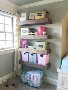 Floating Shelf Free Plans