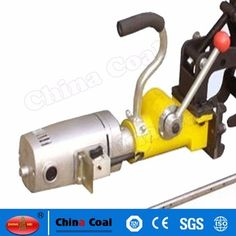 chinacoal03 ZG-13 Electric Rail Drill/Rail Driller for Railway Maintenance High quality electric rail track drilling machine can be used for less than 75 Kg/m all type of the rail tracks, the rail clamp device has the selflocking function, high position accuracy, high drilling precision. It uses the twist drill bits, the overall structure, electric rail trck drilling machine is the essential tools for railway maintenance department.
