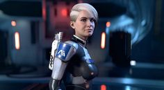 Cora Harper from Mass Effect Andromeda