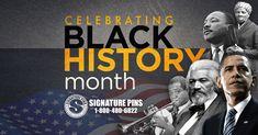 Celebrating Black History Month in February. #SignaturePins #BlackHistoryMonth #February2018