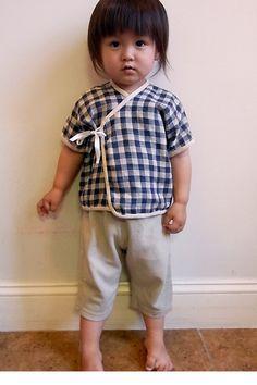 BABY KIMONO. KURI Clothes For Kids / Handmade in Brooklyn