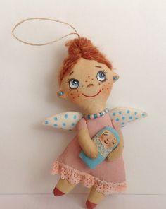 Doll Angel-Soft Doll-Miniature doll-Angel Cloth от NatashaArtDolls