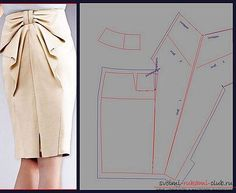 выкройки юбки - Поиск в Google