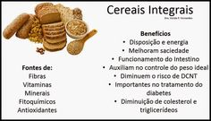 Benefícios dos cereais integrais
