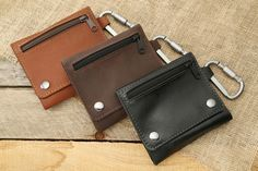 Allegory Goods Leather EDC Pouch. $50