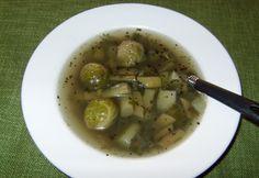 Rántás nélküli zöld leves