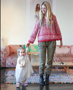 Molly and her daughter Sunny in Daily Candyhttp://www.dailycandy.com/everywhere/flipbook/162332/Interview-with-Stone-Fox-Brides-Molly-Guy