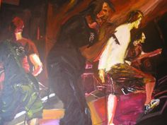 A painting of my elder brother old band