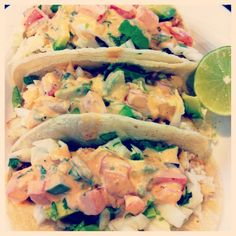 Fish tacos, Mexican cheese and Tacos on Pinterest