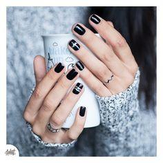 Nailart assorti juste pour le plaisir #nails #notd #nailstagram