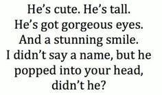 Didn't he?