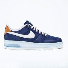 Nike Air Force 1 Low: Blue Denim