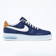 Nike Air Force 1: Blue Denim