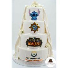 Wedding cake, pièce montée mariage Gâteau de mariage (2) Macaron, Wedding Cakes, Creations, Geek Stuff, Wedding Bride, Sugar Paste, Wedding Gown Cakes, Geek Things, Wedding Pie Table
