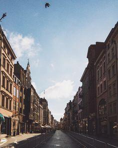 ::: empty streets of toruń ;) | this is #torun poland