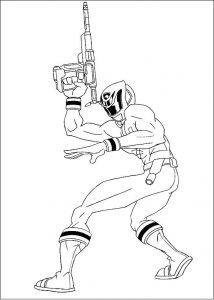 Imagens para pintar dos Power Rangers - 31