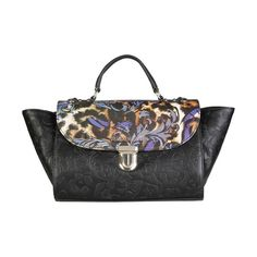 a51ffa9476 Versace Jeans Black Handbags Italian Handbags