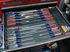 Tooling organization