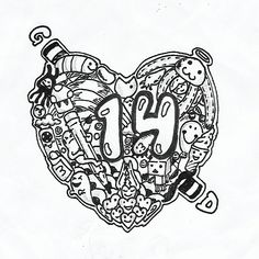 """14"" Doodle by gianmulya"