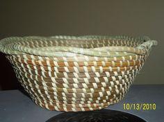 Gullah Sweetgrass Braided Basket