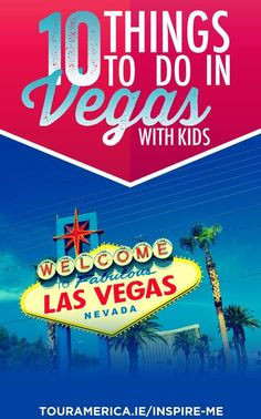 Las Vegas is becoming a popular destination for families. Check out these 10 fun things to do in Las Vegas with Kids. Las Vegas Attractions, Las Vegas Trip, Las Vegas Hotels, Las Vegas Nevada, Cheap Las Vegas Weddings, Las Vegas Grand Canyon, Las Vegas With Kids, Stuff To Do, Things To Do