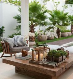 25 Tipps und Tricks, wie Sie Ihre Terrasse neu gestalten Design a terrace – Do you have a larger terrace? Design them within different zones. You can do this with a wooden pergola or … Outdoor Areas, Outdoor Rooms, Outdoor Living, Outdoor Kitchens, Outdoor Lounge, Outdoor Armchair, Outdoor Stuff, Outside Living, Outdoor Entertaining