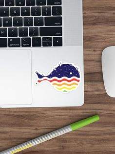 'Night Life in the Ocean' Sticker by Diardo Fish Design, Cool Stickers, Night Life, Ocean, Cool Stuff, Artist, Prints, Artists, The Ocean