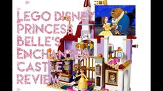 LEGO Beauty And The Beast Belle's Enchanted Castle Review! - YouTube