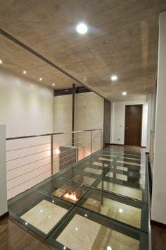piso cristal