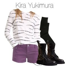 Kira Yukimura - tw / teen wolf by shadyannon on Polyvore featuring polyvore fashion style Zoe Karssen Wet Seal ASOS Burberry clothing
