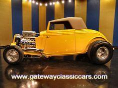 1933 Ford Cabriolet   - Stock #4840-STL