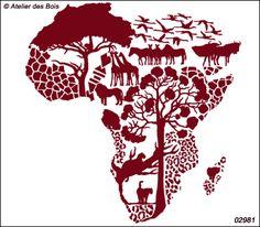 Askan, paysage d'Afrique More