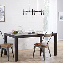 3) Parsons Expandable Dining Table, $499 + 15% off + $50 delivery